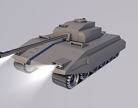 Tank model 3D