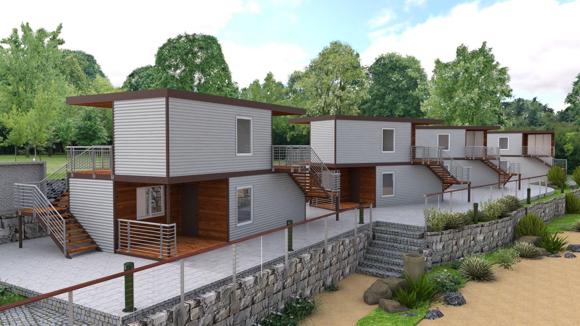 Recreation Center Houses