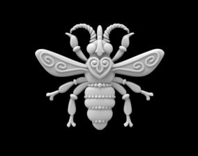 3D printable model bee insect