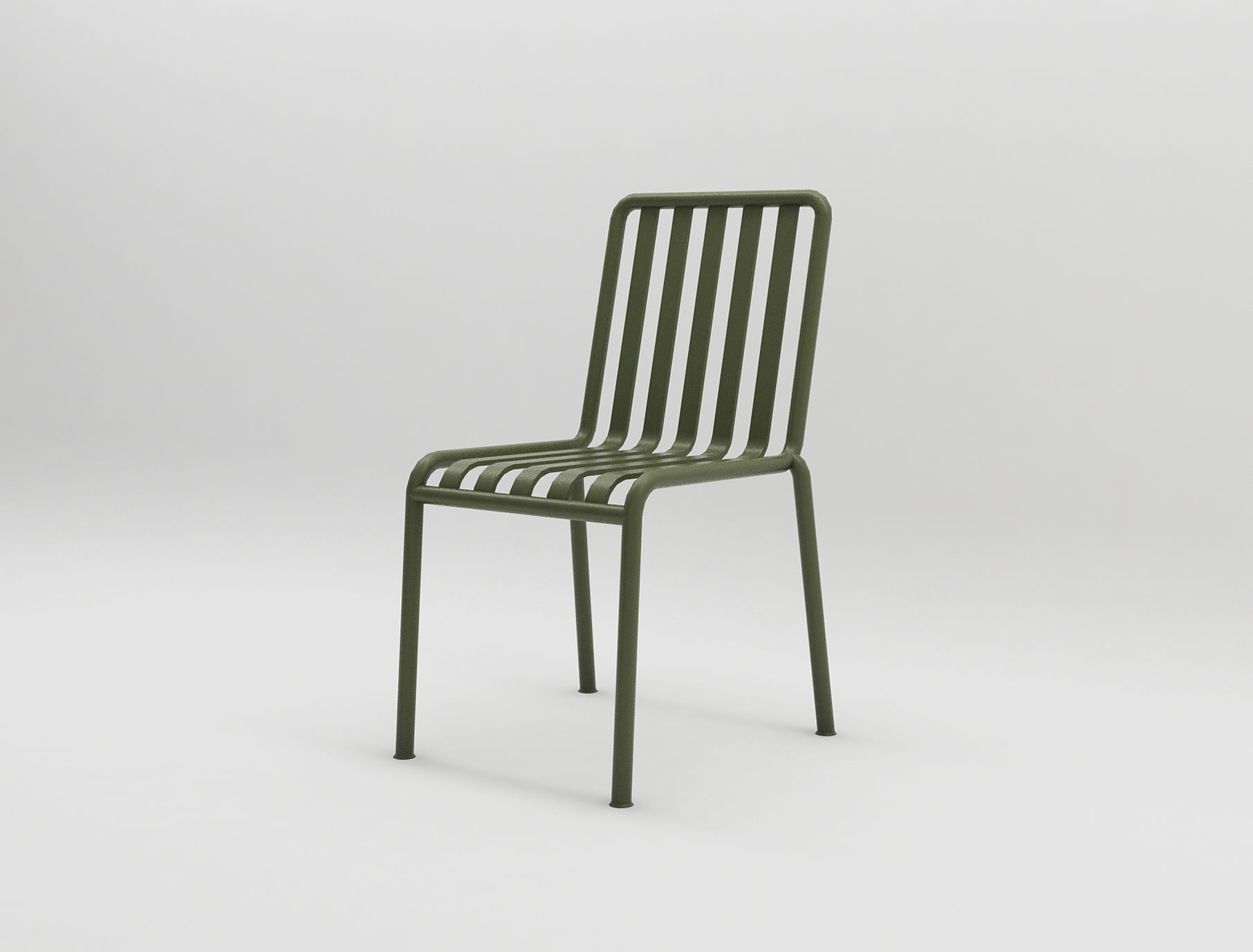 Terrific Olive Palissade Chair Hay Design Illopop 3D Model Alphanode Cool Chair Designs And Ideas Alphanodeonline