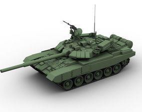 T 90 Battle Tank 3D model