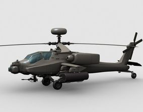 Apache Helicopter 3D