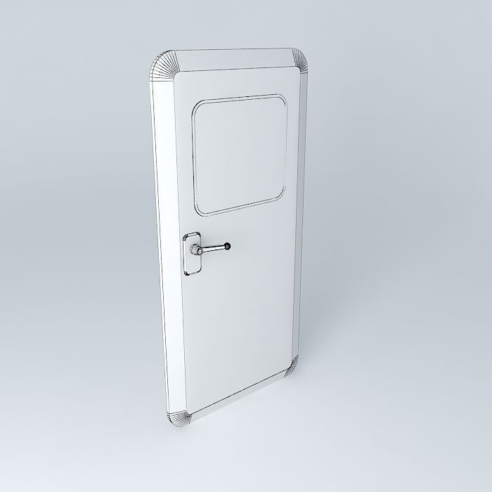 ... ship hatch door 3d model max obj 3ds fbx stl dae 5 & 3D Ship Hatch Door | CGTrader