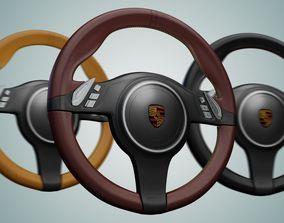 3D model Steering Wheel racing carrera