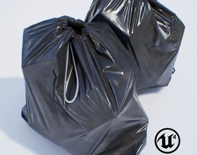 3D asset Garbage Bag - PBR Game-Ready