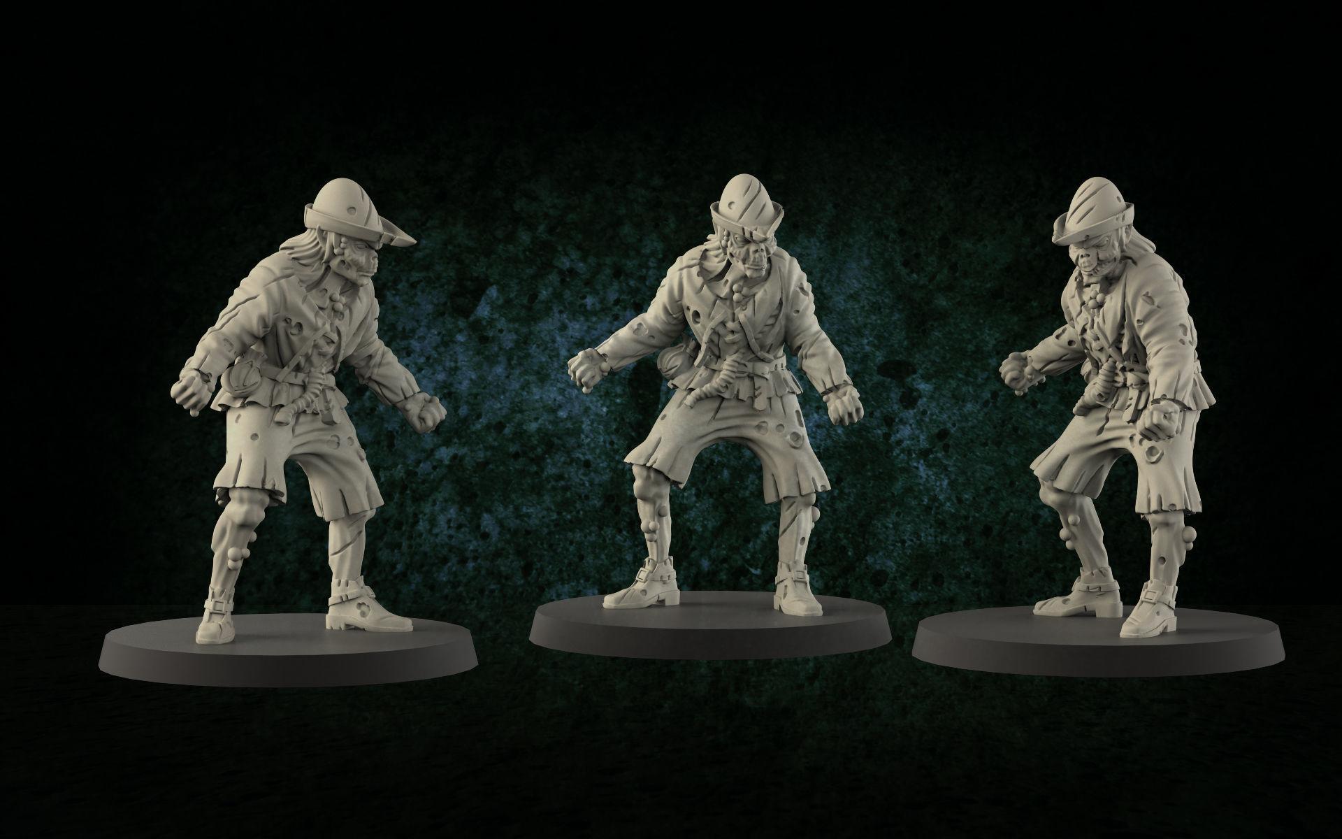 Medieval zombie 1