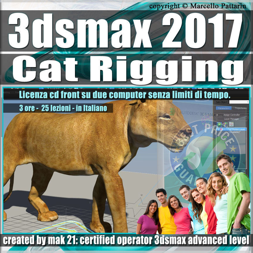 006 3ds max 2017 Cat Rigging volume 6 cd front