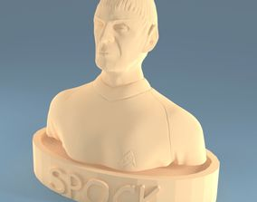 Mr Spock bust 3D printable model