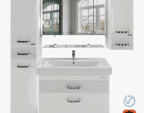 3D Bathroom Furniture SIERRA