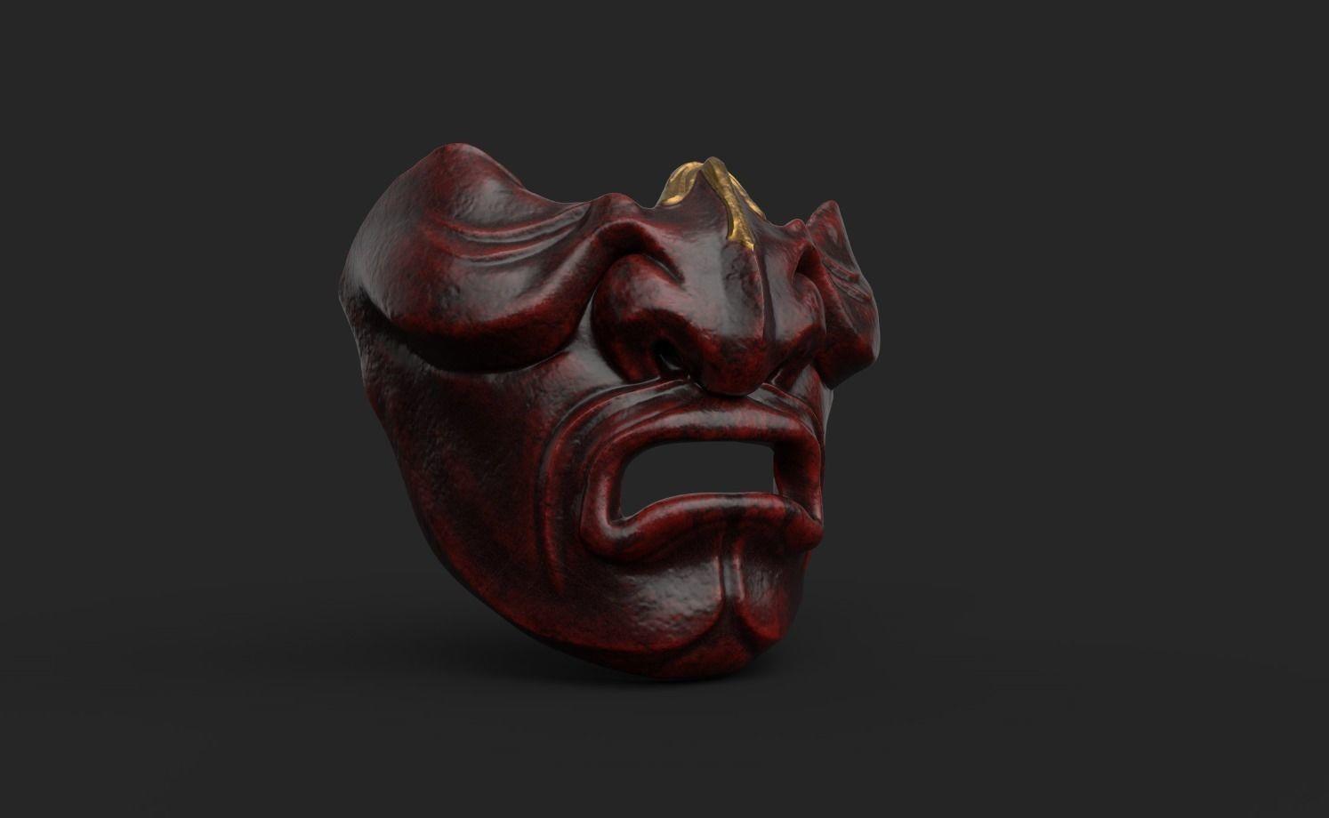 Kabuto Mempo Mask