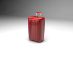 3D Travel suitcase