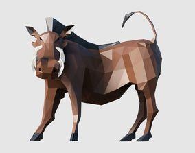 Warthog 3D asset