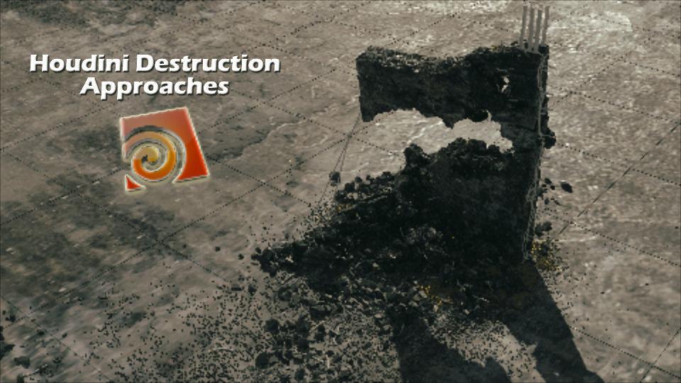 Houdini 17 Redshift Destruction Setup