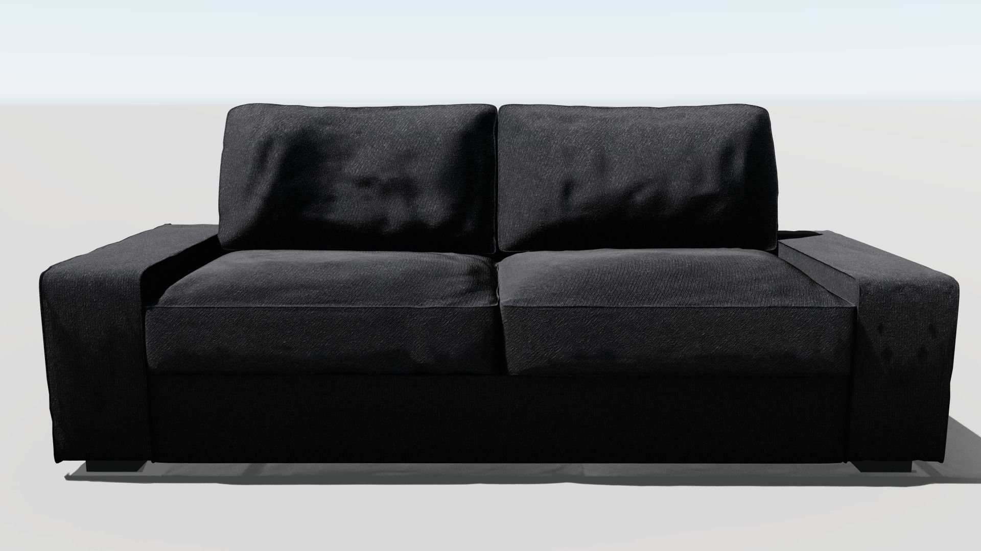 Fantastic Kivik 3D Sofa Couch With 3 Seats 3D Model Pabps2019 Chair Design Images Pabps2019Com