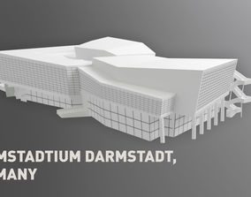 Darmstadtium Darmstadt Germany 3D model