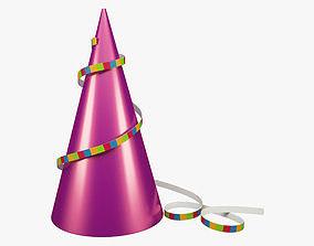 3D asset Party Hat