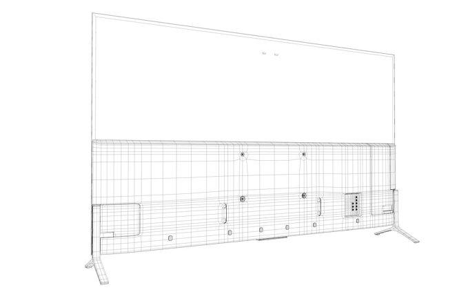 sony 65 inch 4k tv 2015 model cgtrader Sony BRAVIA 2013 sony 65 inch 4k tv 2015 model 3d model obj mtl 3ds fbx c4d dxf dae