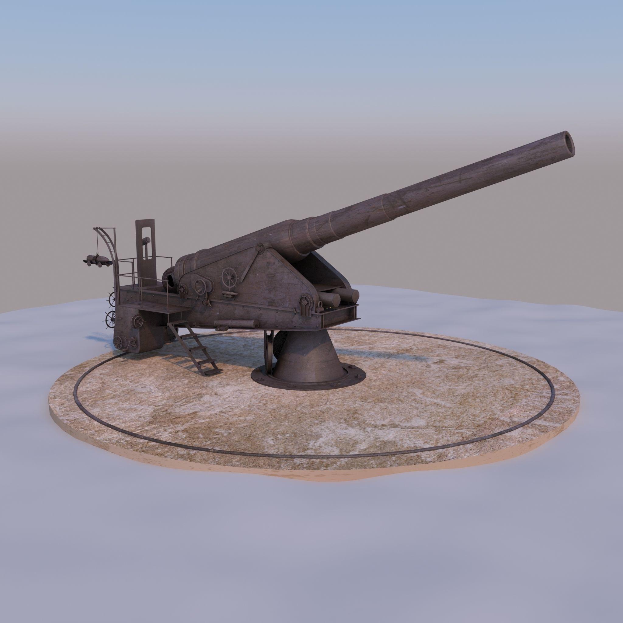 WW I Cannon