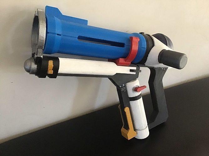 overwatch mei freeze gun 3d model stl 1