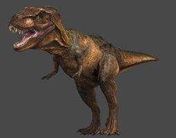 3d model animated tyrannosaurus  rex