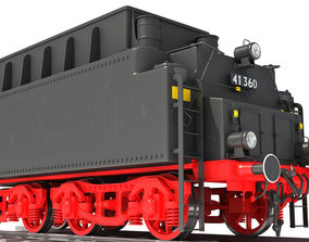 Tender Coal Car 3D