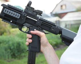 3D print model Hi-Capa 1911 airsoft pistol PDW carbine 1