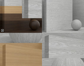 3D model Wood material Cleaf TSS