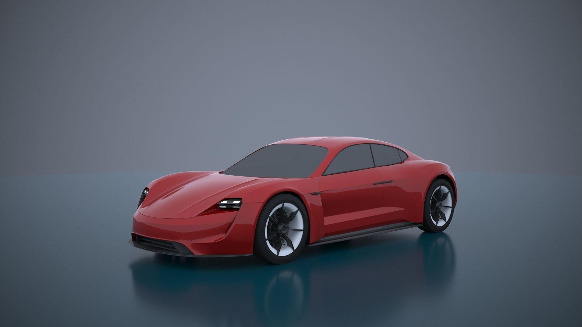 Porsche Mission E -Taycan 2019
