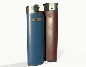 Disposable lighters 3D model