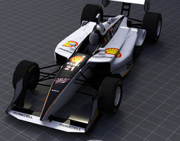 3d model 2006 champ shell miller team
