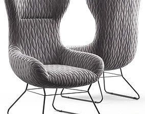 Loftdesigne Armchair 4071 3D model