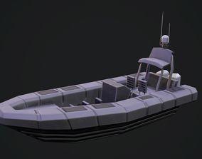 Gemini RHIB Boat 3D model