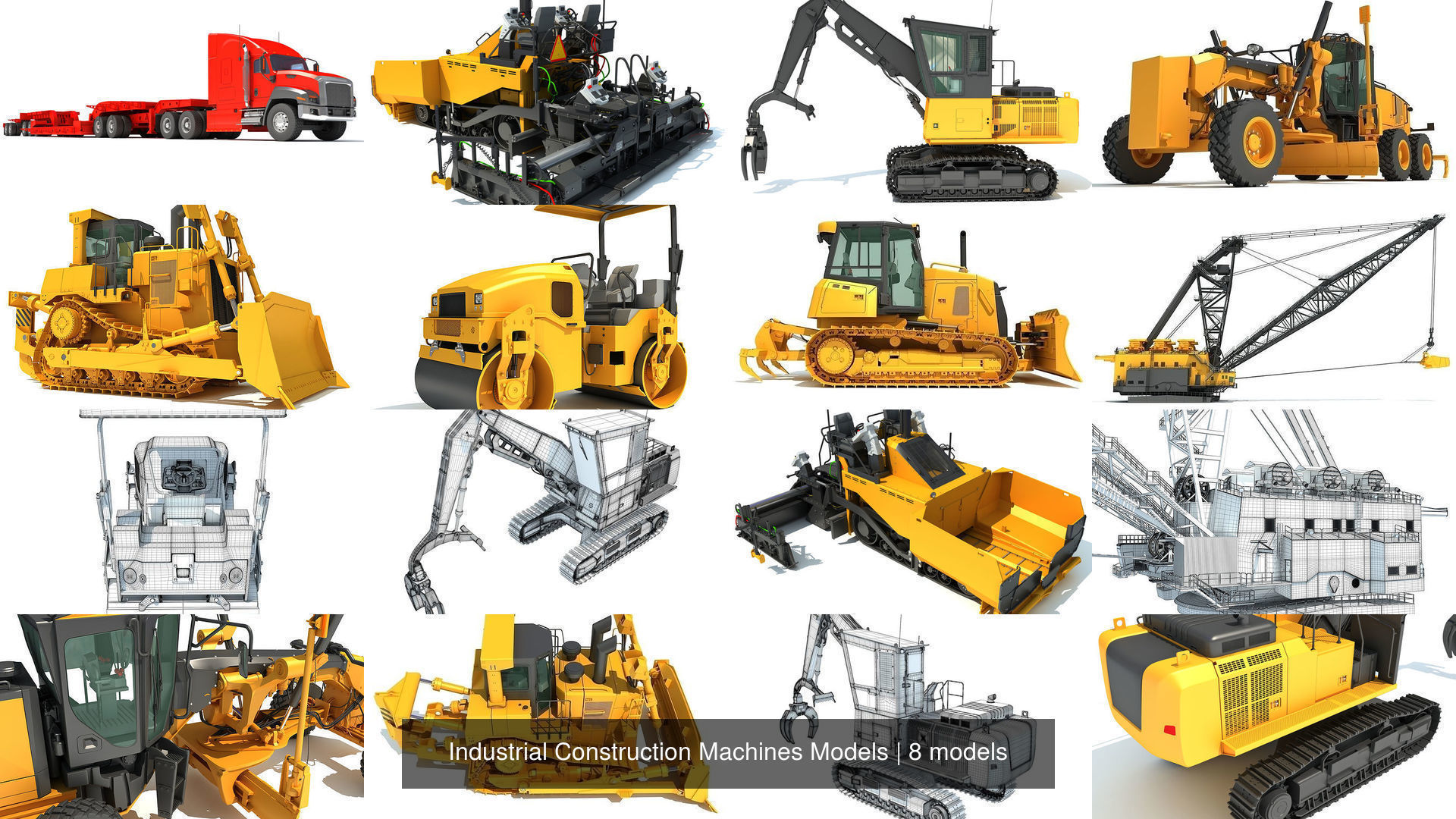 Industrial Construction Machines Models