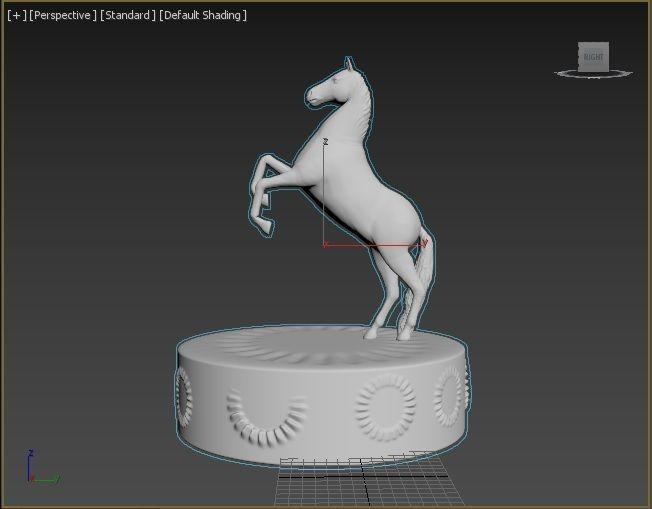 Horse figure