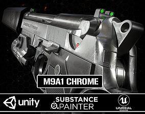 3D model M9A1 Chrome