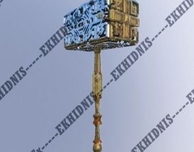 3D model Ornamented Hammer