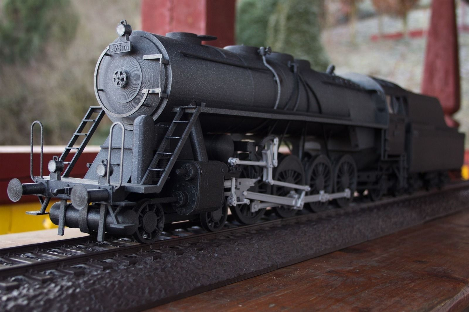 Steam train Noblewoman with tender