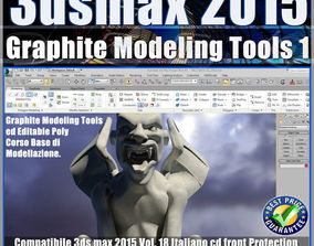 3ds max 2015 Graphite Modeling Tools1 v 18 cd front