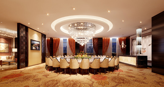 Luxury Conference Room 3d Cgtrader