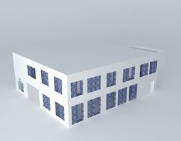 House 2nd Floor 3D model