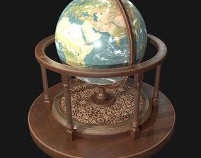 Globe PBR 3D asset realtime