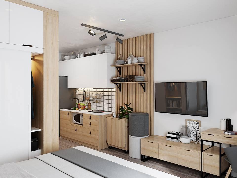 Small Apartment Scandinavian Design Cgtrader