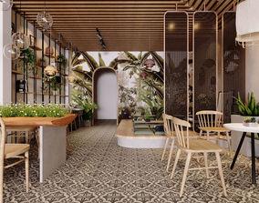 3D animated Scandinavian the Coffee House scandinavian