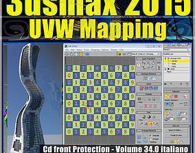 3ds max 2015 UVW Mapping v 34 cd front