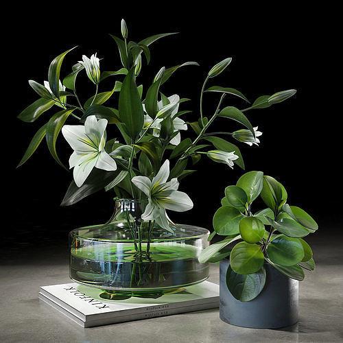 decorative set 005 3d model max obj mtl fbx 1