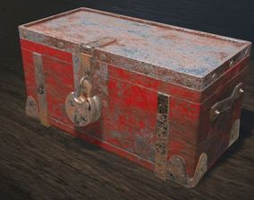 Metal Strong Box 3D