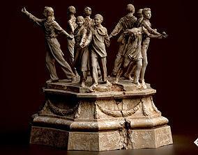 Soviet monument 3D model