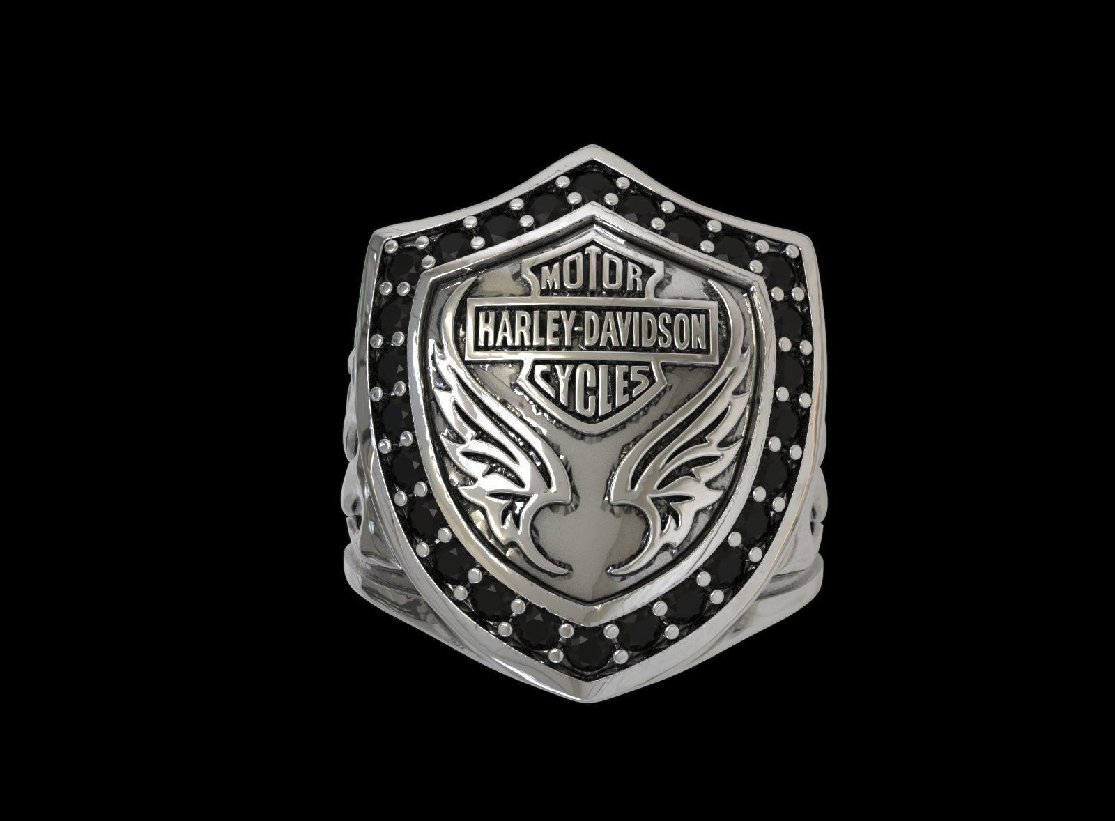 Ring Motor Harley Davidson
