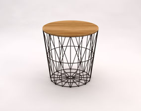 SIDE TABLE---Basket 3D