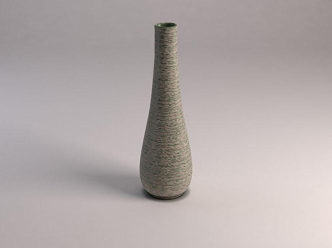 ceramic vase---flute 3d model max obj mtl 3ds fbx tga 1